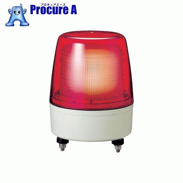 パトライト 中型LEDフラッシュ表示灯 色:赤 XPE-24-R ▼751-5057 (株)パトライト
