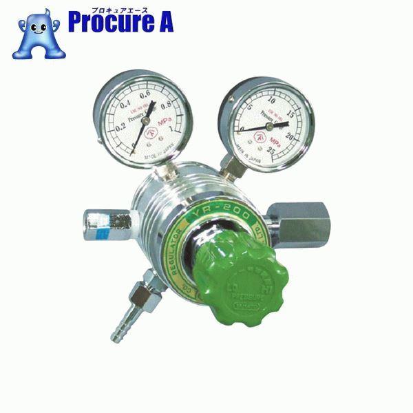 ヤマト フィン付圧力調整器 YR-200 YR200B ▼434-6653 ヤマト産業(株)