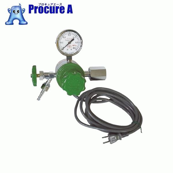 ヤマト ヒーター付圧力調整器 YR-507V YR-507V ▼434-6734 ヤマト産業(株)