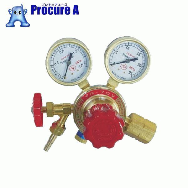 ヤマト 水素用圧力調整器 YR-70V-22-12HG04 ▼434-6769 ヤマト産業(株)