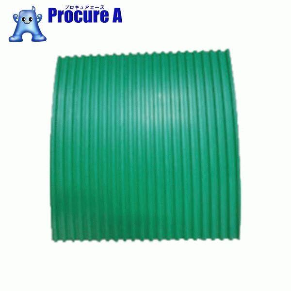 YOTSUGI 耐電ゴム板 緑色 B山 6T×1M×1M YS-231-02-04 ▼466-6666 ヨツギ(株) 【代引決済不可】【送料都度見積】