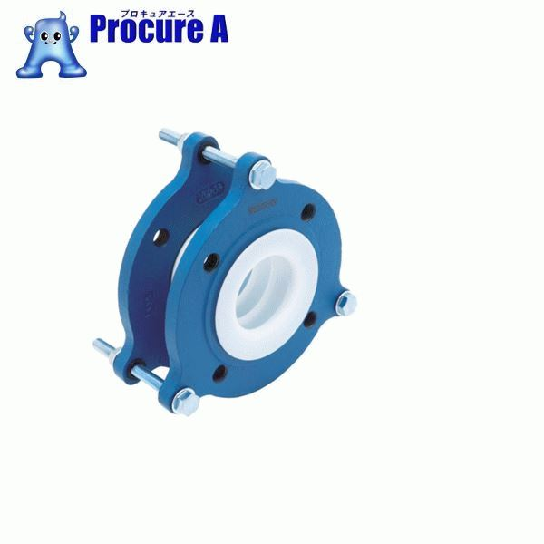 ゼンシン フッ素樹脂製防振継手(フランジ型) ZTF-5000-32 ▼420-4344 ゼンシン(株)