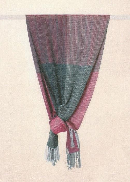 結城紬真綿ショール一年中ショール/暗香(レッドパープルからグレーブルーの3色)