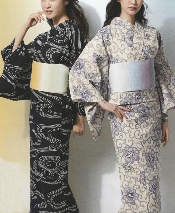 源氏物語/麻と綿の布/右/反物