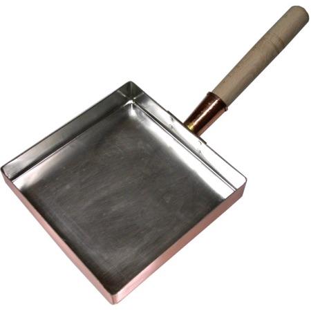 即納 プロの愛用品 お気に入 卵焼きが焦げ付かずふっくら 18cm 銅玉子焼関東型