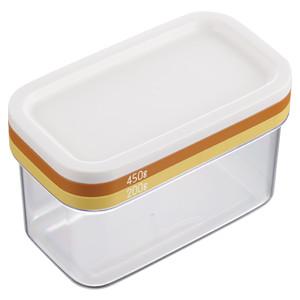 曙産業 バターカッター バターケース セール価格 大きなバターもギュッとひと押しで 使いやすいうす切りに ST-3006 日本 バターカッティングケース