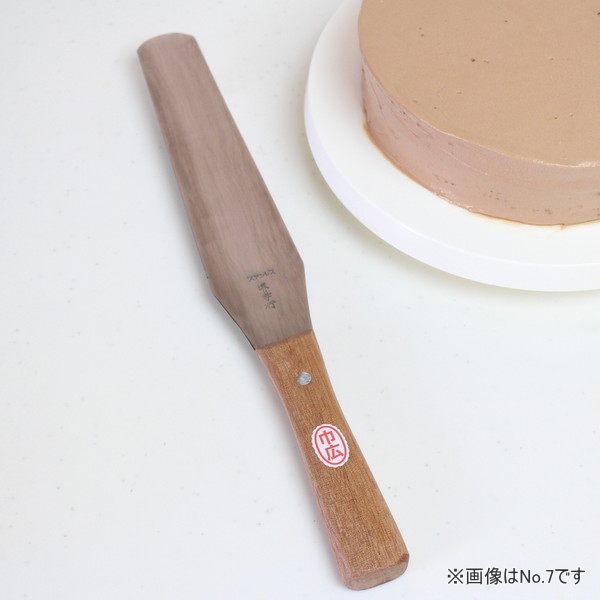 信頼ある堺孝行刃物製 オンラインショッピング 巾広ステンレスパレットナイフ No.8 お気に入り