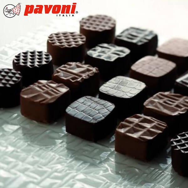 パボーニ チョコレート型Pavoni チョコシートキット1 チョコ型 シリコン型 可愛い 洋菓子型 焼型 製菓道具 バレンタインCHOCO_STRKIT1