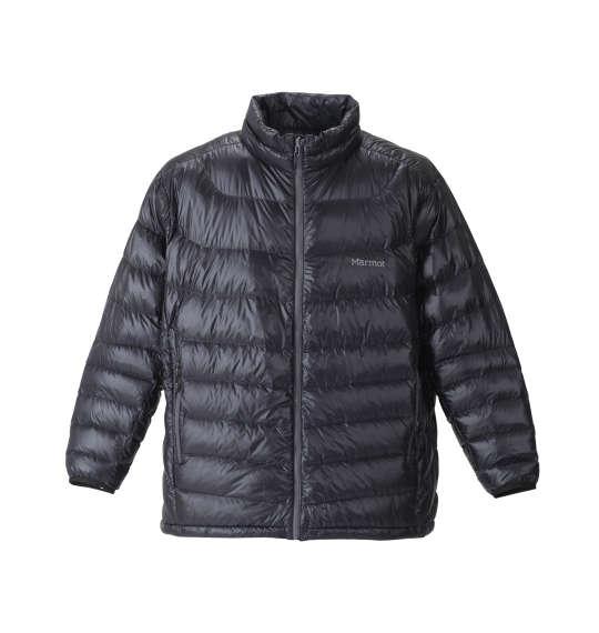【 大きいサイズ 】1000Easeダウンジャケット Marmot (ブラック)【 3L 4L 5L 6L 】【 送料無料 】【 キング 】【 ビッグ 】【 ラージ 】