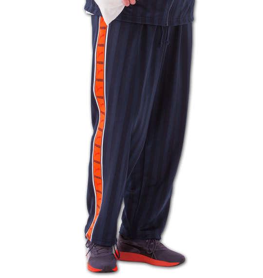 【 大きいサイズ 】トレーニングパンツ PUMA (ネイビー×オレンジ)【 3L 4L 5L 6L 】【 キング 】【 ビッグ 】【 ラージ 】【 送料無料 】【 代引手数料無料 】
