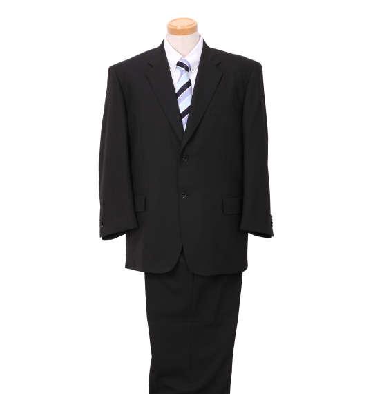 【 大きいサイズ 】シングル2ツ釦スーツ MICHIKO LONDON KOSHINO (ブラック)【 4L 5L 6L 7L 8L 】【 送料無料 】【 キング 】【 ビッグ 】【 ラージ 】
