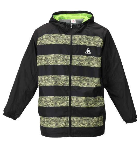 【 大きいサイズ 】ウインドジャケット LE COQ SPORTIF (ブラック)【 2L 3L 4L 5L 6L 】【 キング 】【 ビッグ 】【 ラージ 】【 送料無料 】