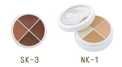 Benny コンシーラーア sort [4 colors] ( SK1-3/NK1 ) (Ben Nye cosmetics)