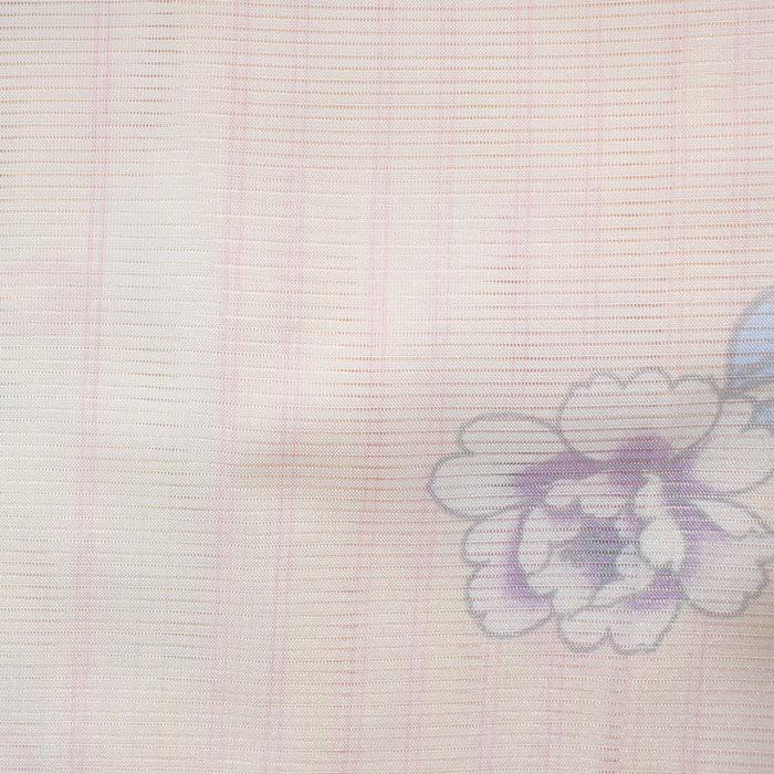 お買い得 絽きもの M L寸ろ 絽 着物 仕立て上り 洗える着物 プレタ 夏用 夏着物 夏きものbyY7f6g