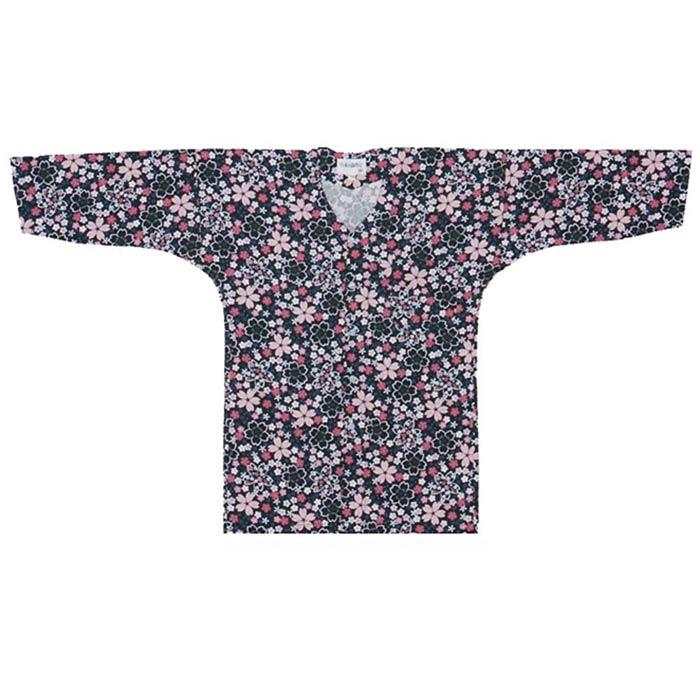 鯉口シャツ 黒地に桜s案641祭り シャツ 衣装 だんじり まつり 衣裳お取り寄せ商品 1点までメール便可shCtQrd