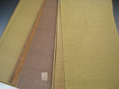 正絹 夏 袋帯 無地 夏用 帯 ふくろ帯 着物 きもの 絽 紗