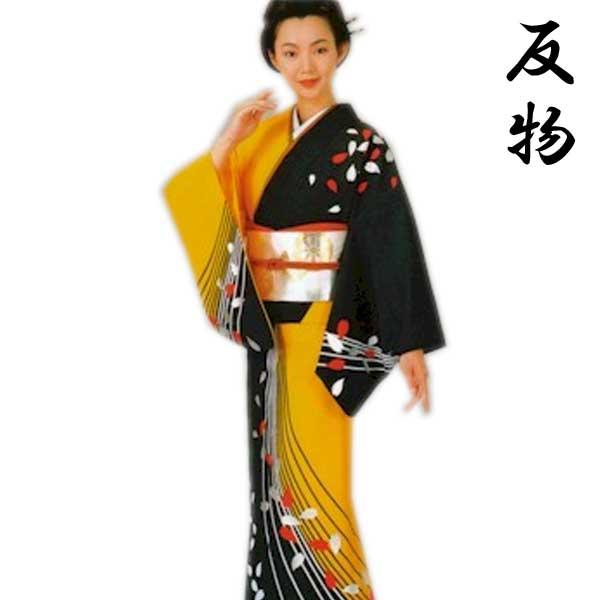 踊り 絵羽 反物 (mi福4103) 舞台 衣装 未仕立 着物 きもの 日舞 日本舞踊 踊り絵羽 たんもの 送料無料 【お取り寄せ商品】