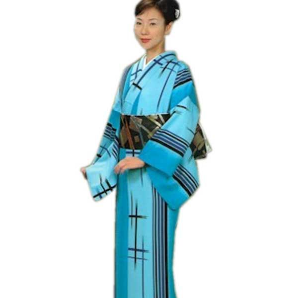 踊り 小紋 (f踊27-622) 舞台 衣装 こもん 着物 たんもの きもの 日舞 日本舞踊 【お取り寄せ商品】