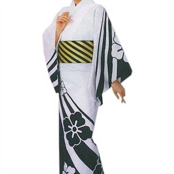 ご奉仕品 仕立上り 絵羽 ゆかた (敏9931) 盆踊り 祭り 揃い 浴衣 【お取り寄せ商品】