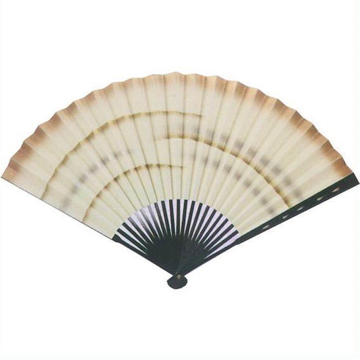 中啓 扇子 金銀 かすみ (te497) 踊り 日舞 日本舞踊 おどり せんす 踊り扇子 【お取り寄せ商品】