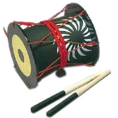 前太鼓 踊り 小道具 まえだいこ 日舞 日本舞踊 おどり 歌舞伎 踊り用 和楽器 たいこ 鼓 【お取り寄せ商品】