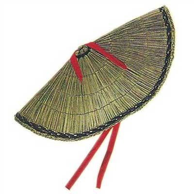 둘 수 있는 삿갓 1(z삿갓 A1521) (춤일본춤 일본 무용 소도구 신무용 무용 민요 그물삿갓 아미삿갓)