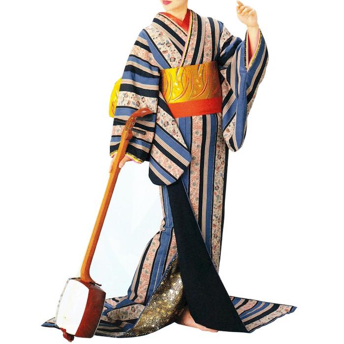 裾引き 裾一重 (s朝2925) すそひき 裾引 舞台 衣装 着物 きもの 日舞 日本舞踊 送料無料 【お取り寄せ商品】