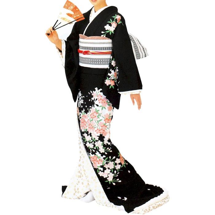 裾引き (s2926) お引き 引き摺り 芸者 すそひき 裾引 舞台 衣装 着物 きもの 日舞 日本舞踊 送料無料 【お取り寄せ商品】