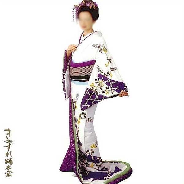 裾引き 比翼仕立て (綾70003) すそひき 裾引 舞台 衣装 着物 きもの 日舞 日本舞踊 送料無料 【お取り寄せ商品】