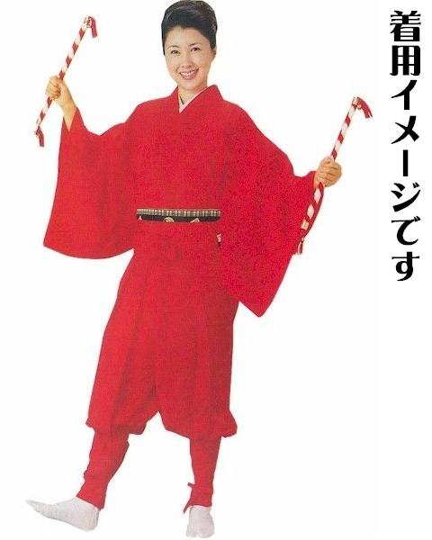 tattsuke裤裙≪红≫s8711(hakama舞台舞台服装和服和服日本舞蹈日本舞蹈新跳舞)