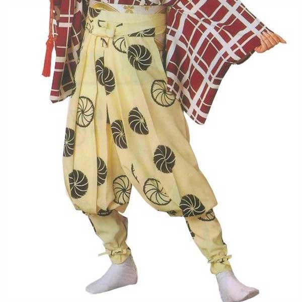 たっつけ袴 毛卍文 (s妙8705) 送料無料 はかま ちゃんちゃんこ 帽子 玉すだれ 舞台 ステージ 衣装 着物 きもの 日舞 日本舞踊 新舞踊 踊り 大道芸 時代劇 舞台 演劇 【お取り寄せ商品】