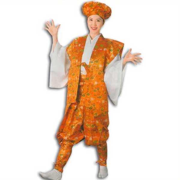 たっつけ袴 セット (s8717) たっつけ 袴 はかま ちゃんちゃんこ 帽子 玉すだれ 衣装 着物 日舞 日本舞踊 送料無料 【お取り寄せ商品】