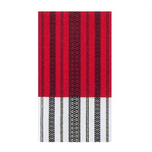 八寸 献上 腹合帯 踊り帯 (f27-861) 赤黒 白黒 舞台 衣装 日舞 日本舞踊 腹合せ 帯 【お取り寄せ商品】
