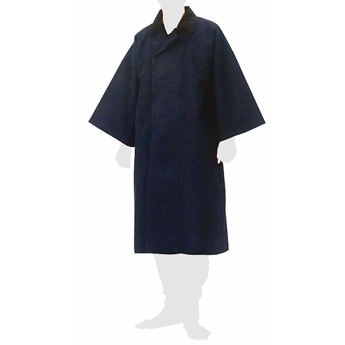 袢天 コート 刺子 紺 祭り (s575) 袢纏 はんてん 神輿 山車 だんじり おみこし 【お取り寄せ商品】