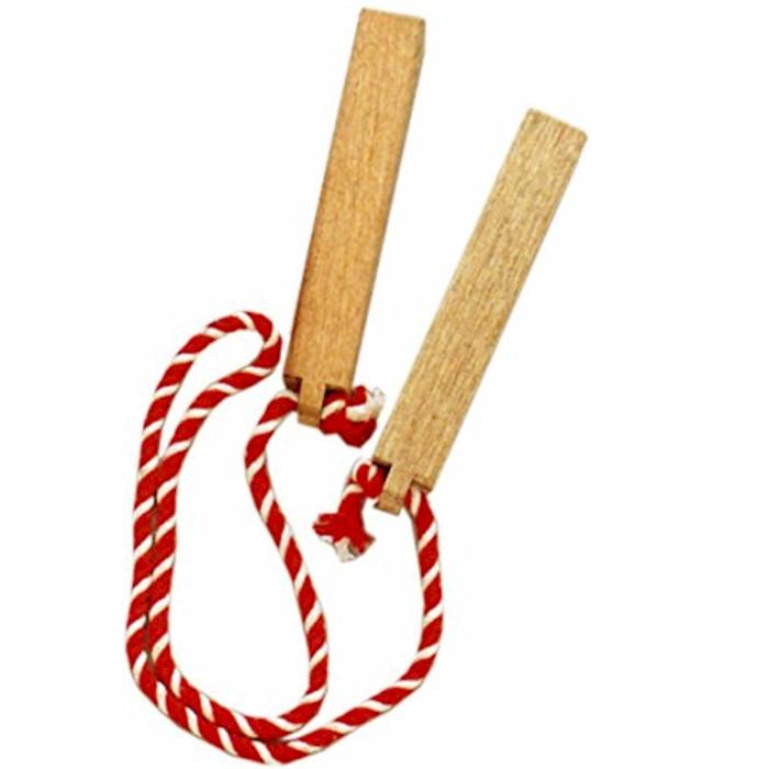 拍子木 大 祭り (s6352) ひょうしぎ 火の用心 小道具 宴会 舞台 舞踊 神輿 【お取り寄せ商品】