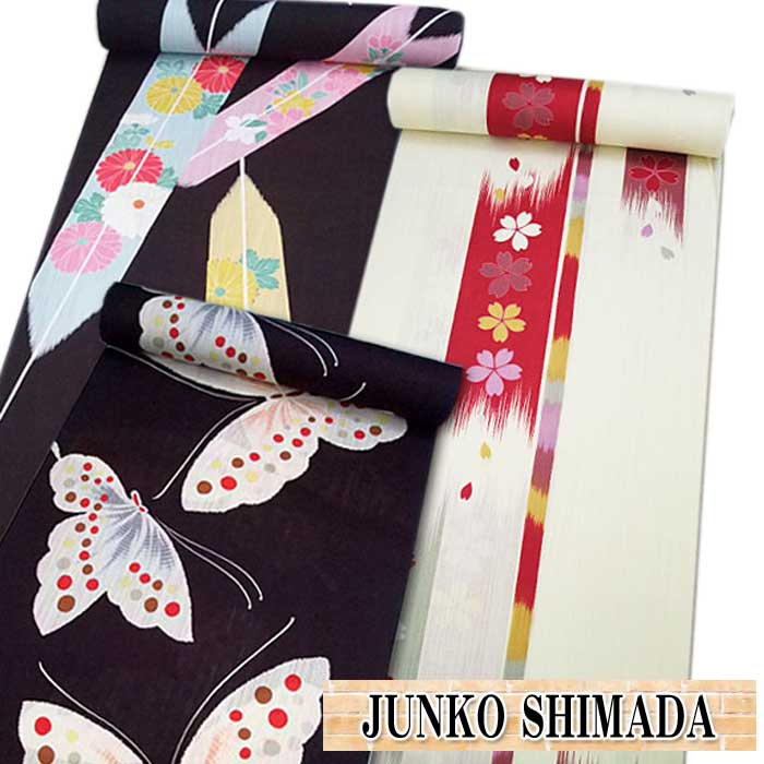 ブランド ゆかた 反物 JUNKO SHIMADA 浴衣 たんもの 仕立て 和裁 夏 着物 ジュンコシマダ
