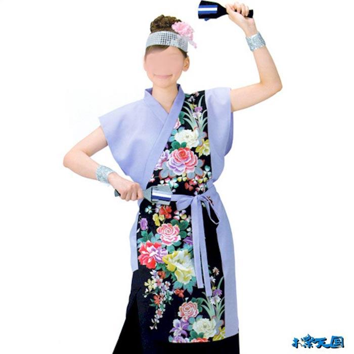 よさこい コスチューム (k非20057) レディース よさこい衣装 祭り 衣装 衣裳 【お取り寄せ商品】