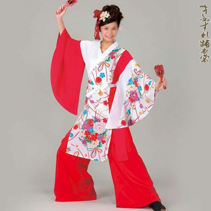 よさこい コスチューム レディース (k洞20018)上衣 よさこい衣装 祭り 衣装 衣裳 【お取り寄せ商品】