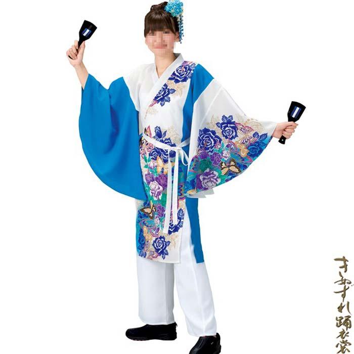 よさこい コスチューム (k洞20020) レディース 上衣 よさこい衣装 祭り 衣装 衣裳 【お取り寄せ商品】