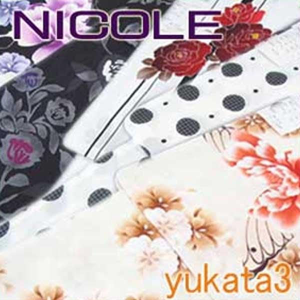 NICOLE yukata ブランド 浴衣 ゆかた ニコル