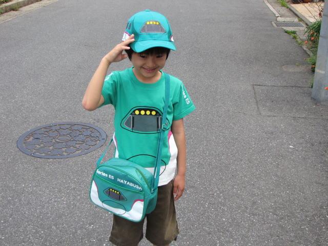 신칸센 T 셔츠 (키즈 용) E5 계 야 전차 ・ 신칸센 케이크! 플라스틱 레일 등의 자녀도 10P23Sep15