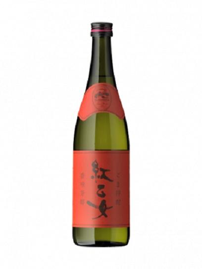 胡麻焼酎 紅乙女 1800ml 瓶