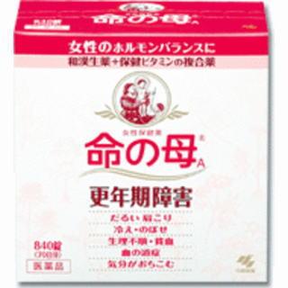 【第2類医薬品】小林製薬 命の母A 840錠 3箱セット