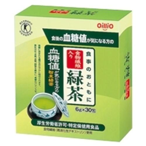 日清 食物繊維入り 緑茶 (6g×30包) 4個セット【特定保健用食品】【送料無料】