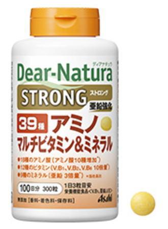 アサヒ ディアナチュラ ストロング39 アミノ マルチビタミン&ミネラル 300粒 6個セット