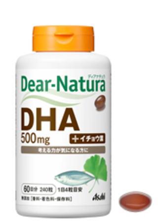 アサヒ ディアナチュラ DHA with イチョウ葉 240粒 6個セット【送料無料】