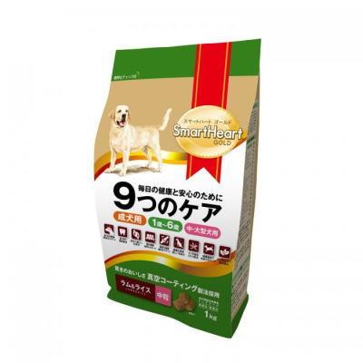 スマートハートゴールド ラム&ライス(1kg・中粒)12個セット【送料無料】SHG・ドックフード