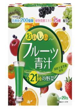 ユーワ おいしいフルーツ青汁 40包×6個セット