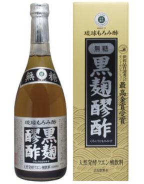 琉球もろみ酢 黒麹醪酢(無糖)720ml 12本セット【送料無料】