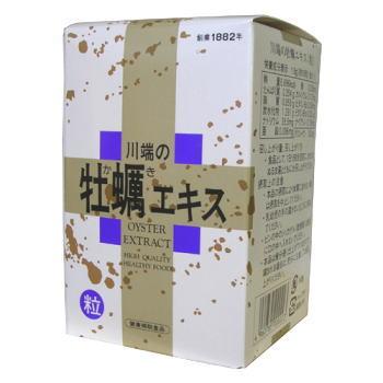 川ばた乃 川端の牡蠣エキス 粒 約415粒 6個セット【送料無料】